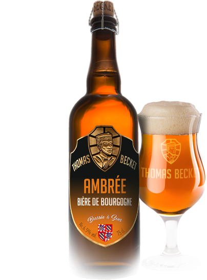 Bière Thomas Becket Ambrée