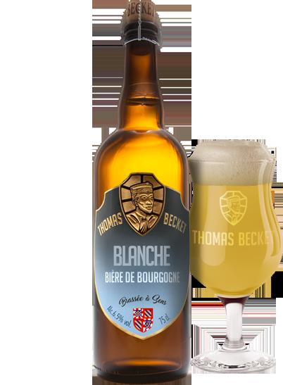 Bière Thomas Becket Blanche