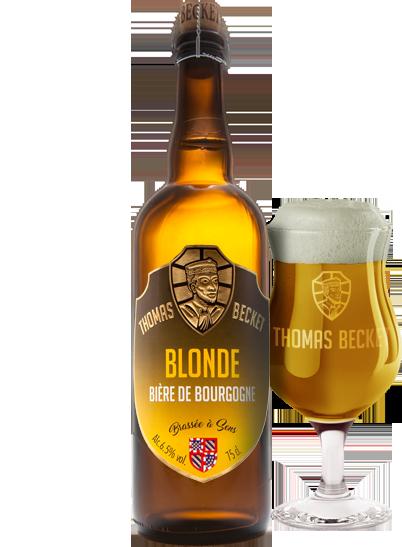 Bière Thomas Becket Blonde
