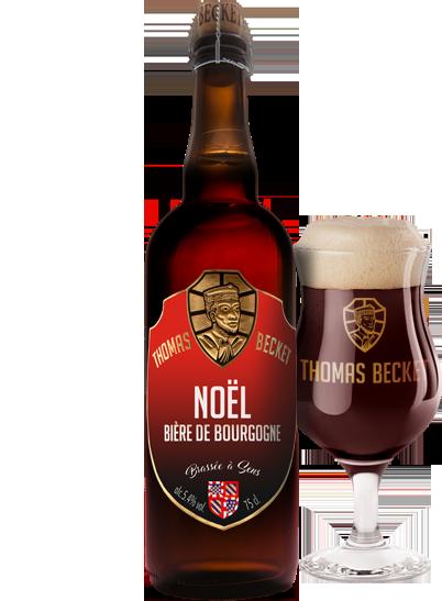 Bière Thomas Becket de Noël