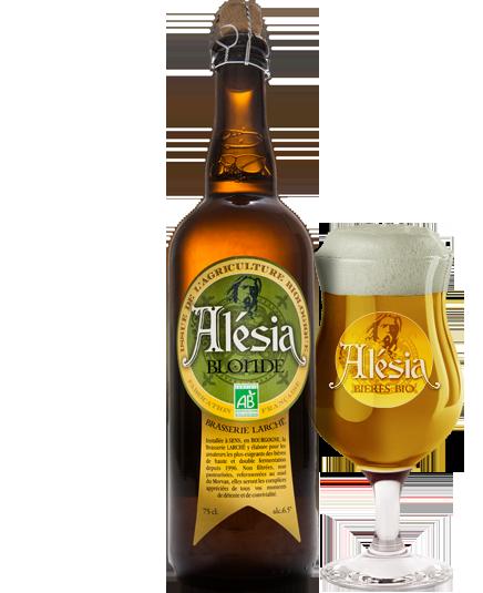 Bière Alesia Blonde Bio - Brasserie Larché